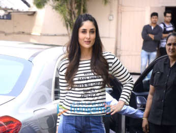 Kareena Kapoor Khan, Sonam Kapoor Ahuja and Swara Bhaskar snapped promoting 'Veere Di Wedding' at Mehboob Studio
