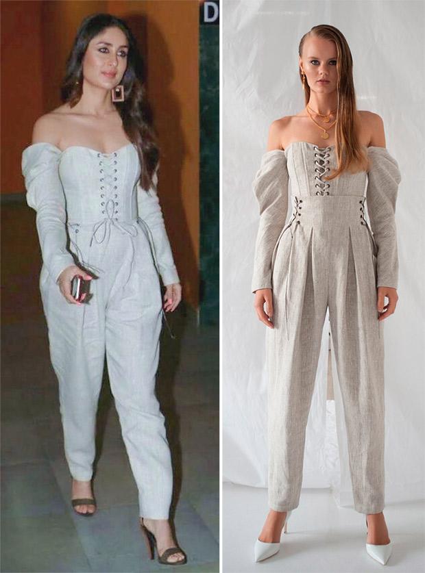 Kareena Kapoor Khan in Off White for Veere Di Wedding promotions