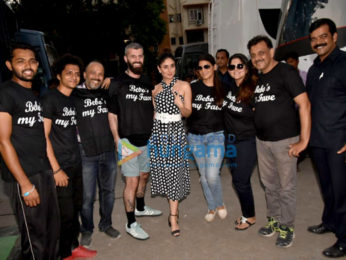 Kareena Kapoor Khan snapped at a studio in Mumbai