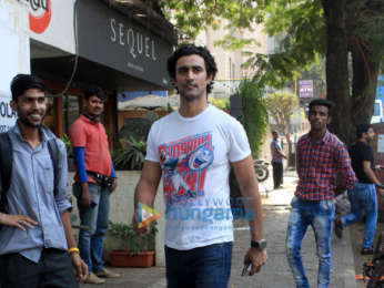 Kunal Kapoor spotted at Sequel in Bandra