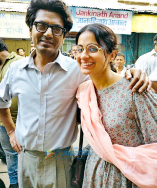 On The Sets Of The Movie Manto