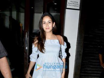 Mira Rajput spotted in Bandra