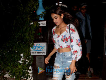 Nidhhi Agerwal snapped at Corchine in Bandra