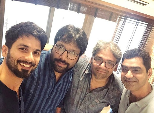 Shahid Kapoor officially announces Arjun Reddy