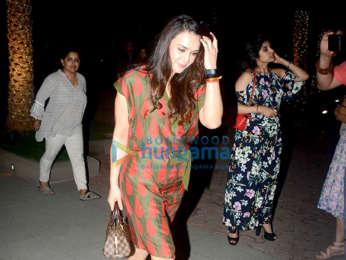 Preity Zinta and Arjun Rampal spotted at Yauatcha in BKC