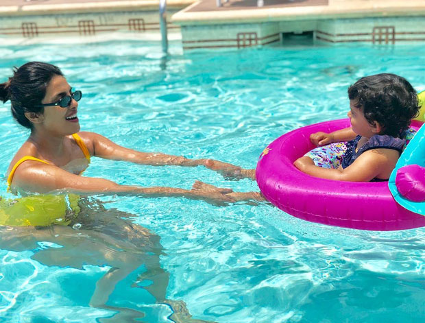 Priyanka Chopra playing with her niece in the pool is the CUTEST thing you will see on the internet today