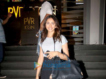 Rakul Preet Singh spotted at PVR Icon