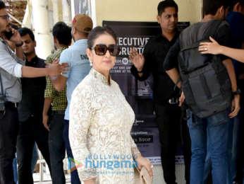Ranbir Kapoor, Dia Mirza, Sonam Kapoor, Manisha Koirala arrive for the trailer launch of 'Sanju'