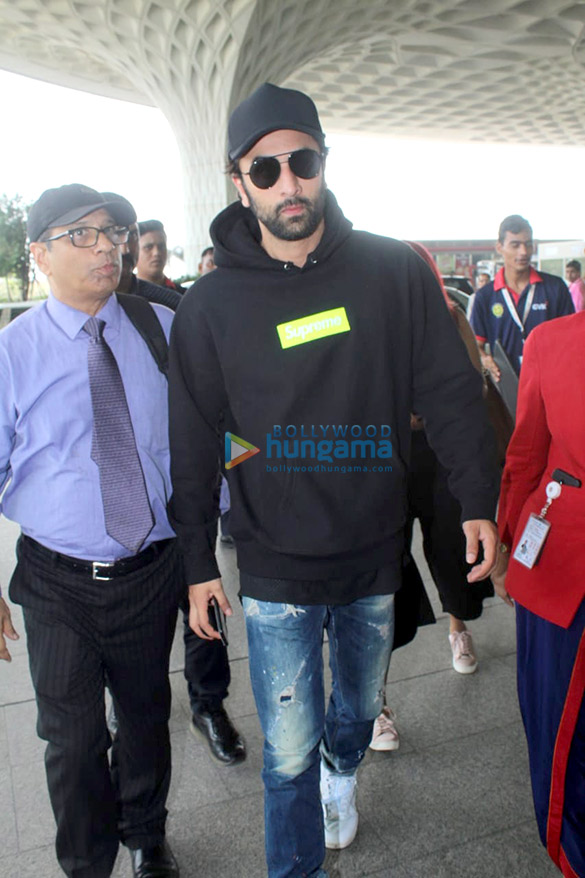 Ranbir Kapoor, Karan Johar, Shahid Kapoor, Dia Mirza and others snapped at the airport