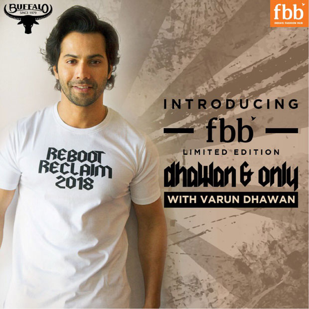 Revealed: Varun Dhawan kicks off his own CLOTHING line and here are the details