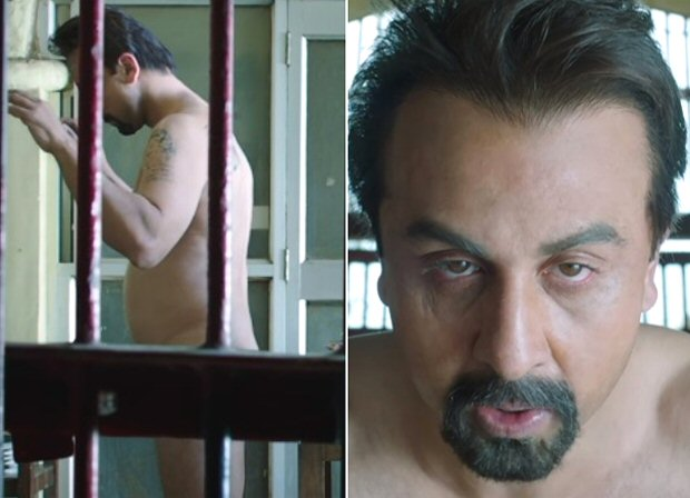 "Ranbir Kapoor has successfully BLOWN our minds with his Sanju trailer which dropped today. While we can't wrap around our heads at Ranbir's shocking transformation into Sanjay Dutt, we seriously think that Sanju will be a game-changer in Ranbir's career. The film has a stellar cast with Paresh Rawal, Anushka Sharma, Dia Mirza and Sonam Kapoor playing important characters who shaped Sanjay Dutt's life. In one scene featuring Sanjay Dutt's jail time…Ranbir Kapoor goes full monty while he is being frisked by police upon his arrest under the TADA law in 2006. Ranbir was asked about the particular scene and if he had any reservations doing the same to which he said, ""Main toh pehle film mein hi nude chala gaya tha. Mera towel gir gaya tha. (I went nude in my first film itself. My towel had fallen down.) I am shy in real life but jab main camera ke saamne hota hun tab you have to be nude about your emotions."" Ranbir Kapoor has set new standards for actors by portraying Sanjay Dutt and his colourful, controversial, shocking life. Sharing the unknown details of Sanjay Dutt's life, the trailer presented a heart wrecking story of Sanjay Dutt. While the world witnessed the actor's life on the surface, Rajkumar Hirani dug to the bottom to offer the real-life story of Sanjay Dutt. Offering moments of surprise, humor, and most importantly shock, the trailer provides an overview of the entire life of Sanjay Dutt. Have you seen Sanju trailer yet? Check it out and tell us what you think."