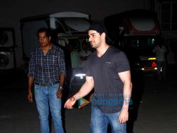 Salman Khan, Katrina Kaif, Bobby Deol, Saqib Saleem and Isabelle Kaif spotted at Mehboob Studio in Bandra