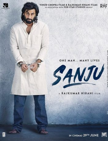 First Look Of The Movie Sanju