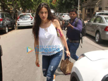 Sara Ali Khan spotted in Bandra