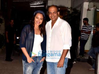 Sonakshi Sinha graces the screening of a Marathi film