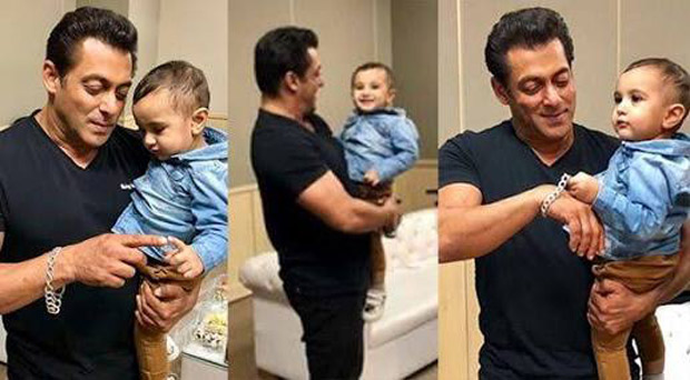 These pics of Salman Khan bonding with Irfan Pathan's son will warm the cockles of your heart