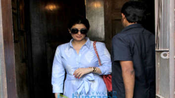 Twinkle Khanna and Anu Dewan spotted at Pali Bhavan