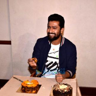 Vicky Kaushal snapped celebrating his birthday