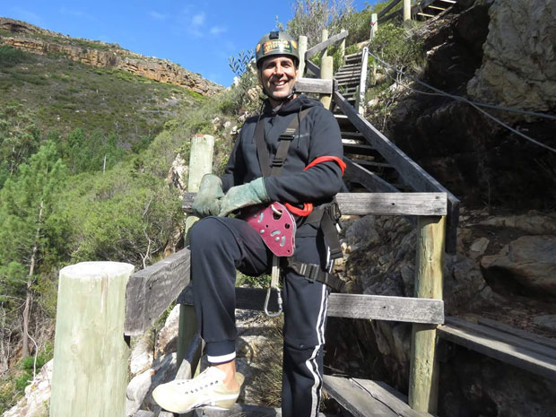 WATCH: Akshay Kumar attempts daredevil zipline adventure in South Africa
