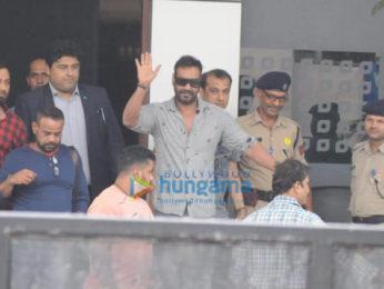 Ajay Devgn, Parineeti Chopra, Arjun Rampal and Arjun Kapoor snapped at the airport