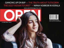 Alia Bhatt On The Cover Of Open Magazine