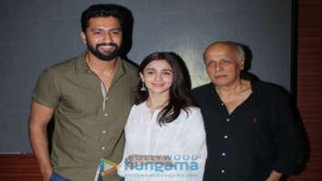 Alia Bhatt, Vicky Kaushal, Mahesh Bhatt snapped at a special screening of Raazi for NGO kids