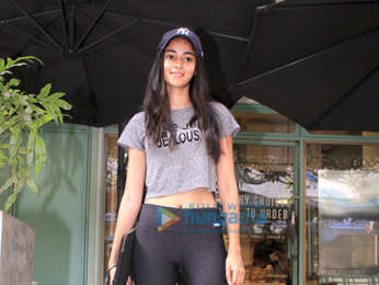 Ananya Pandey Spotted at Kitchen Garden in Bandra
