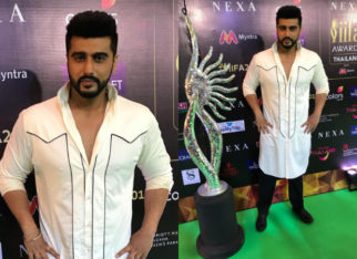 Arjun Kapoor goes for the monochrome vibe for IIFA Rocks 2018