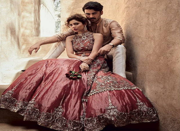 Fawad Khan and Mahira Khan for Sadaf Fawad Khan in Brides Today