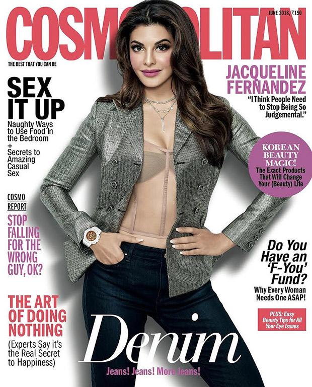 Jacqueline Fernandez for Cosmopolitan India