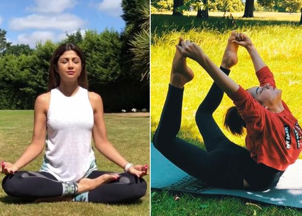 BetFitWithYoga Kangana Ranaut Shilpa Shetty Karisma Kapoor And Others Celebrate International Yoga Day