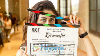 On The Sets Of The Movie Loveratri