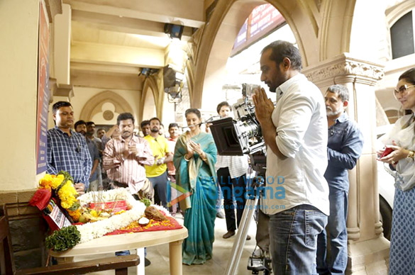On The Sets Of The Movie Prasthaanam Remake