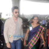 Ranbir Kapoor snapped at the airport leaving to attend the IIFA awards in New York