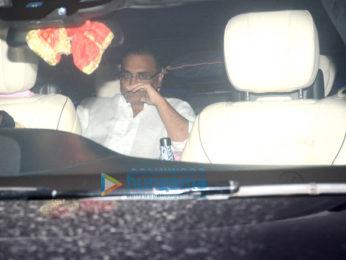 Rani Mukerji and Aditya Chopra spotted at Karan Johar's house