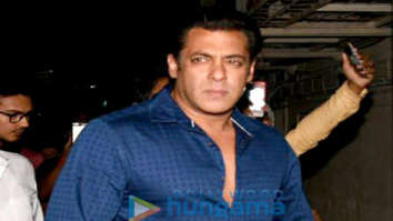 Salman Khan and Sohail Khan spotted at PVR Juhu