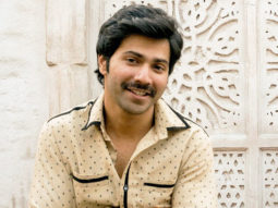 Varun Dhawan goes to a local barber to get his Sui Dhaaga moustached look