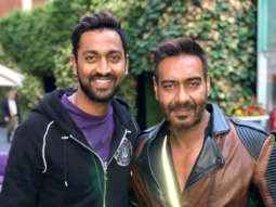 Ajay Devgn meets his doppelganger Indian Cricketer Krunal Pandya