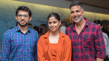 Akshay Kumar hosted a special screening of Marathi film 'Chumbak' at Yashraj Film Studio