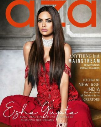 Esha Gupta On The Cover Of Aza