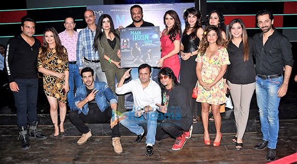 Celebs grace the launch of DJ Sheizwood's single 'Main Husn Hoon'