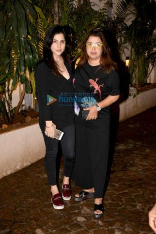 Farah Khan and Maheep Sandhu snapped in Mumbai