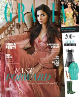 Diana Penty On The Cover Of Grazia