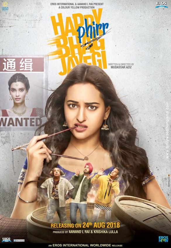 Happy Phirr Bhag Jayegi (2018) con Sonakshi Sinha + Jukebox + Esperando Sub. Happy-Phirr-Bhag-Jayegi