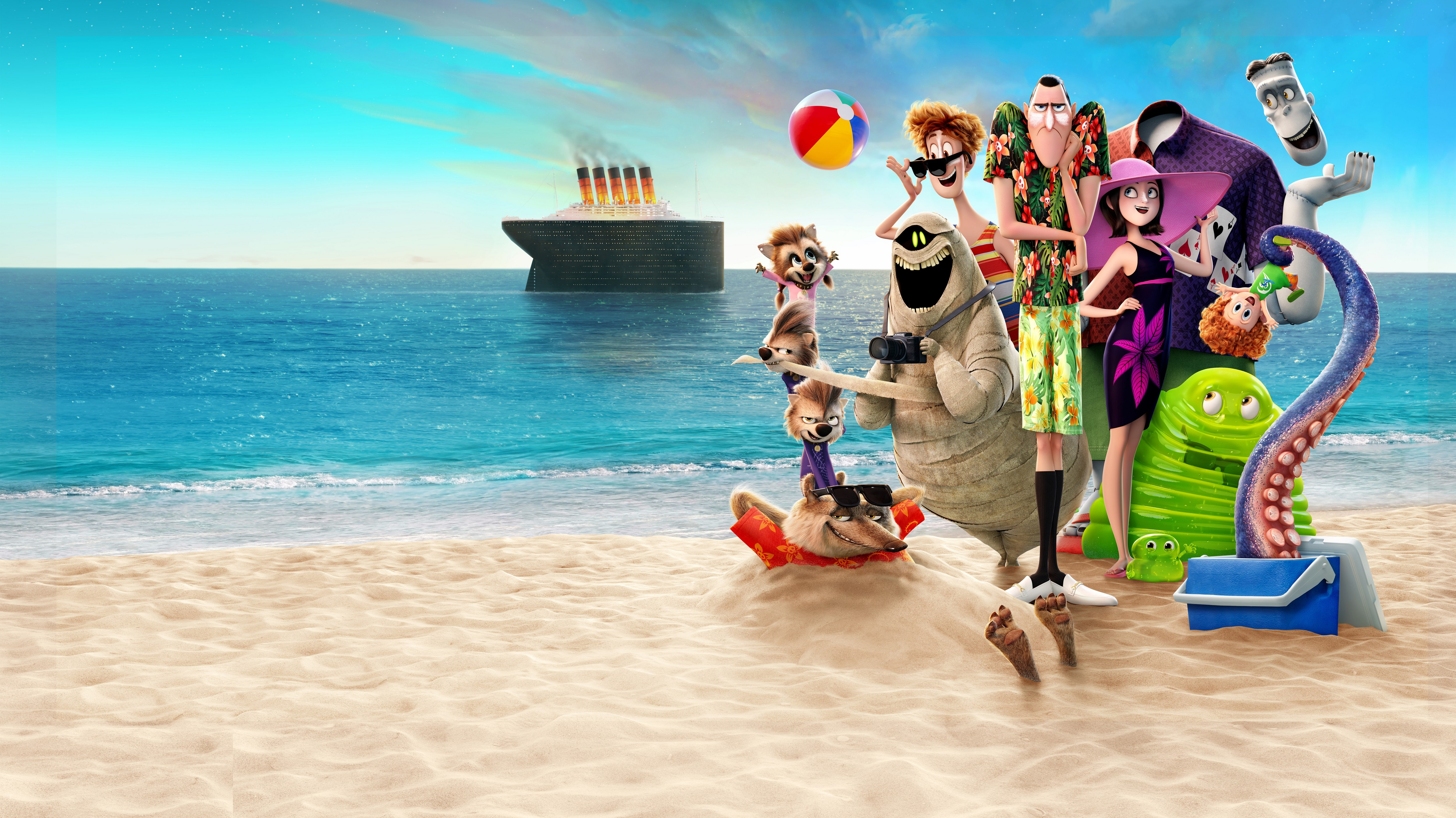Hotel Transylvania 3: Summer Vacation (English)