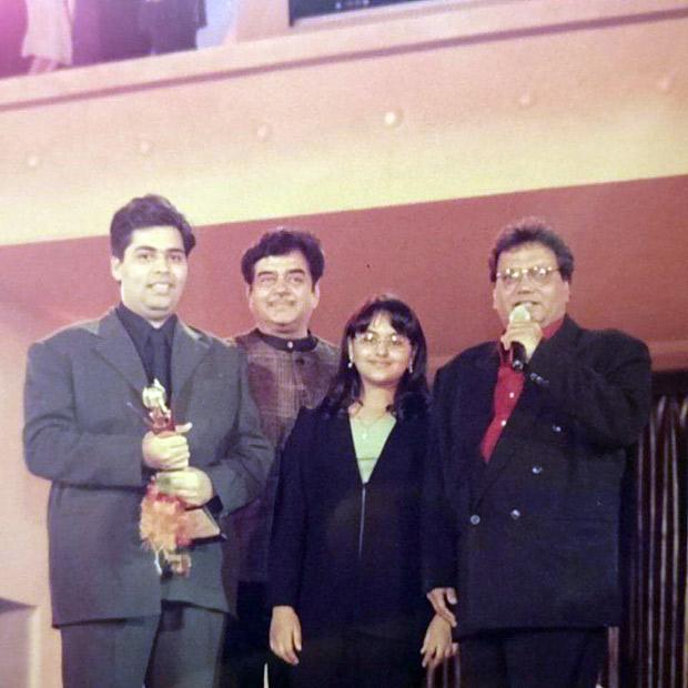 Karan Johar shares a THROWBACK picture with Sonakshi Sinha, Shatrughan Sinha and Subhash Ghai!