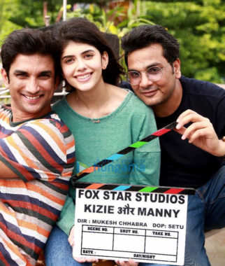 On The Sets Of The Movie Kizie Aur Manny