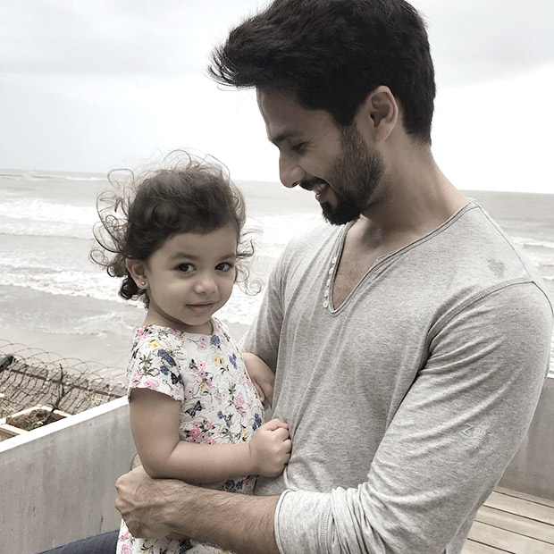 Shahid Kapoor showers LOVE on heavily pregnant Mira Rajput and cutie pie Misha (see pictures)