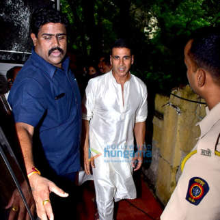 Akshay Kumar snapped post an ad shoot in Bandra