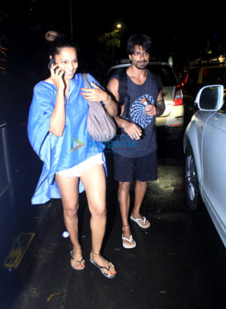 Bipasha Basu & Karan Singh Grover spotted at Sukho Thai Spa in Bandra